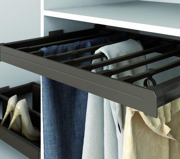 Emuca espa a vida en los muebles - Herrajes para armarios empotrados ...